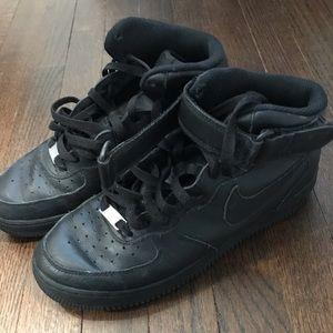 Black Air Force 1s